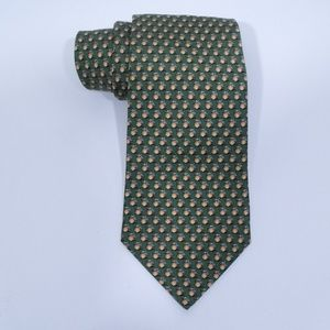 Vineyard Vines Peach Print Silk Tie